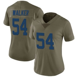 Nike Anthony Walker Indianapolis Colts Women's Limited Green 2017 Salute to Service Jersey