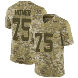 Nike Brandon Hitner Indianapolis Colts Men's Limited Camo 2018 Salute to Service Jersey
