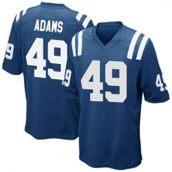 Nike Matthew Adams Indianapolis Colts Youth Game Royal Blue Team Color Jersey