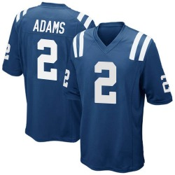 Nike Rodney Adams Indianapolis Colts Men's Game Royal Blue Team Color Jersey